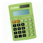 Калькулятор настольный Canon LS-88L салатовый, 8 разрядов
