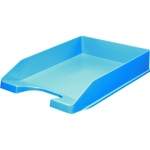 Лоток горизонтальный для бумаг Оскол-Пласт А4, голубой, 9036