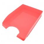 Лоток горизонтальный для бумаг Оскол-Пласт А4, красный