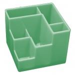 Органайзер настольный Оскол-Пласт 6 секций, зеленый
