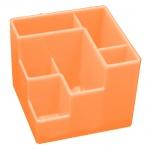 Органайзер настольный Оскол-Пласт 6 секций, оранжевый