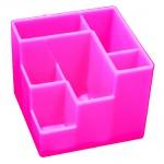 Органайзер настольный Оскол-Пласт 6 секций, розовый
