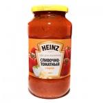 Соус Heinz для спагетти, 450г, Сливочно-томатный с сыром