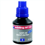 Чернила для маркеров Edding BT30, 30мл, для маркерных досок, E-BT30/3, синий