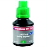 Чернила для маркеров Edding BT30 зеленые, 30мл, для маркерных досок
