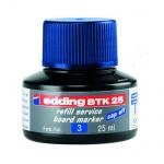 Чернила для маркеров Edding BTK25 синие, 25мл, для маркерных досок