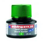 Чернила для маркеров Edding BTK25 зеленые, 25мл, для маркерных досок