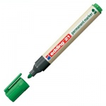 Маркер перманентный Edding ECO 21 зеленый, 1.5-3мм, круглый наконечник, универсальный, без запаха