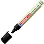 Маркер перманентный Edding ECO 22, 1-5мм, скошенный наконечник, универсальный, без запаха, черный