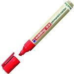 Маркер перманентный Edding ECO 22, 1-5мм, скошенный наконечник, универсальный, без запаха, красный