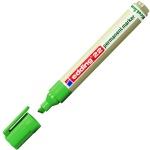 Маркер перманентный Edding ECO 22, 1-5мм, скошенный наконечник, универсальный, без запаха, зеленый
