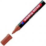 Маркер лаковый Edding 4040 коричневый, 1-2мм, круглый наконечник, декоративный, для дерева и керамик