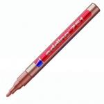 Маркер промышленный перманентный Edding 751 медный, 1-2мм, круглый наконечник, универсальный, лаковы