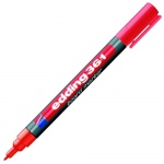 Маркер для досок Edding 361 красный, 1мм, круглый наконечник, заправляемый