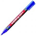 Маркер для досок Edding 361 синий, 1мм, круглый наконечник, заправляемый