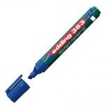 Маркер для флипчарта Edding 383, 1-5мм, скошенный наконечник, cap off, синий