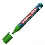 Маркер для флипчарта Edding 383, 1-5мм, скошенный наконечник, cap off, зеленый