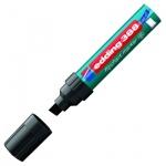 Маркер для флипчарта Edding 388 черный, 4-12мм, скошенный наконечник, cap off