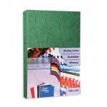 Обложки для переплета картонные Profioffice, зеленые