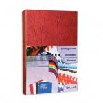 Обложки для переплета картонные Profioffice, красные