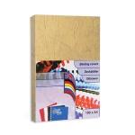 Обложки для переплета картонные Profioffice песочные, А4, 270 г/кв.м, 100шт, 29007