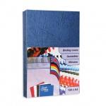 Обложки для переплета картонные Profioffice, синие
