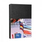 Обложки для переплета картонные Profioffice, черные