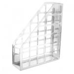 Накопитель вертикальный для бумаг Оскол-Пласт А4, 70мм, белый, 9045