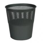Корзина для бумаг Оскол-Пласт 10л, черная, сетчатая, К10ч