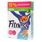 Готовый завтрак Fitness хлопья из цельной пшеницы, 410г