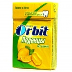 Леденцы Orbit лимон-мята, 8шт х 35г