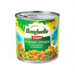 Зеленый горошек Bonduelle Expert с морковью в кубиках, 400г