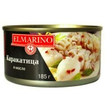 Каракатица Elmarino в масле, 185г