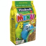 Корм для попугаев Vitakraft Menu Vital, 1кг, для волнистых попугаев