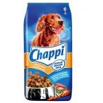 Сухой корм для собак Chappi Сытный Мясной обед мясное изобилие с овощами и травами, 15кг