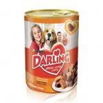 Консервы для собак Darling, 1.2кг, ж/б, курица/индейка
