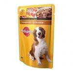 Влажный корм для собак Pedigree, 100г, говядина/ягненок