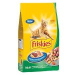 Сухой корм для кошек Friskies с кроликом и овощами, 2кг