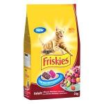 Сухой корм для кошек Friskies с мясным ассорти, 2кг