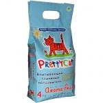 Наполнитель для кошачьего туалета Prettycat Aroma Fruit впитывающий глиняный, 4л