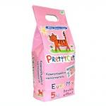 Наполнитель для кошачьего туалета Prettycat Euro Mix комкующийся, 5л