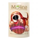 Лакомство для собак Molina утиный хворост, 80г