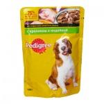 Влажный корм для собак Pedigree, 100г, кролик/индейка