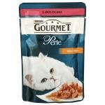 Влажный корм для кошек Gourmet Perle, 85г, лосось