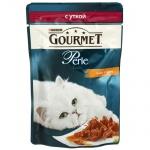 Влажный корм для кошек Gourmet Perle, 85г, утка