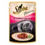 Влажный корм для кошек Sheba, 85г, говядина/кролик