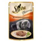 Влажный корм для кошек Sheba, 85г, телятина/язык