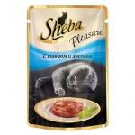Влажный корм для кошек Sheba, 85г, тунец/лосось