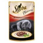 Влажный корм для кошек Sheba Pleasure из говядины и ягненка, 85г