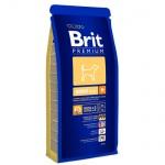Сухой корм для собак Brit Premium Dog Adult Medium с курицей, 3кг